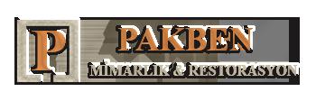 PAKBEN Mimarlık & Restorasyon | Tarihi Yapı , Eski Eser , İzmir Restorasyon , Mimarlık , Kültür Varlıkları Logo